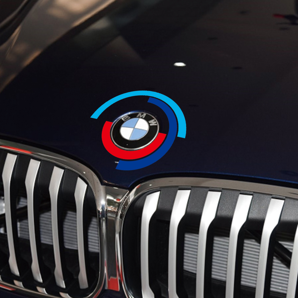 Car Hood <font><b>Engine</b></font> <font><b>Cover</b></font> Logo Sticker Bonnet Emblem Decal For <font><b>BMW</b></font> E60 <font><b>E90</b></font> F20 F30 F10 G30 Z4 F15 F16 F25 G05 G01 G20 X1 Accessories image