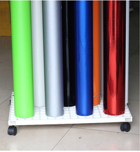 61.5x46cm Car Wrapping Vinyl Roll Storage,movable vinyl roll holder Mobile rack storage MO-222