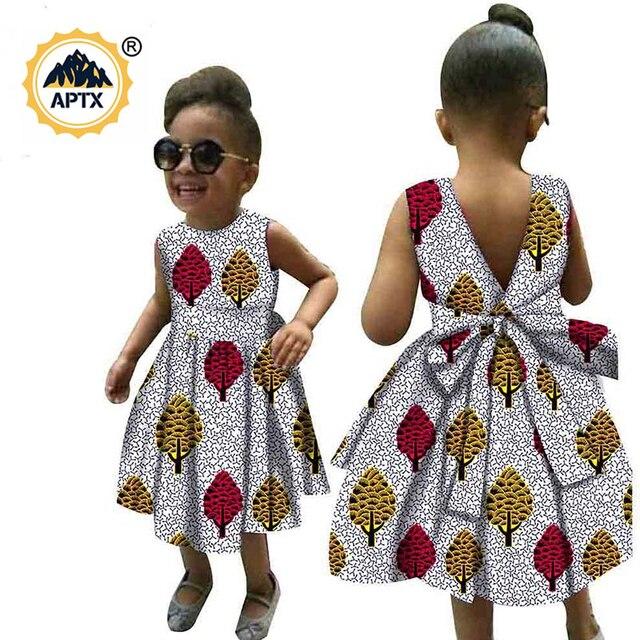 Купить африканская одежда для детей платье с африканским принтом анкары