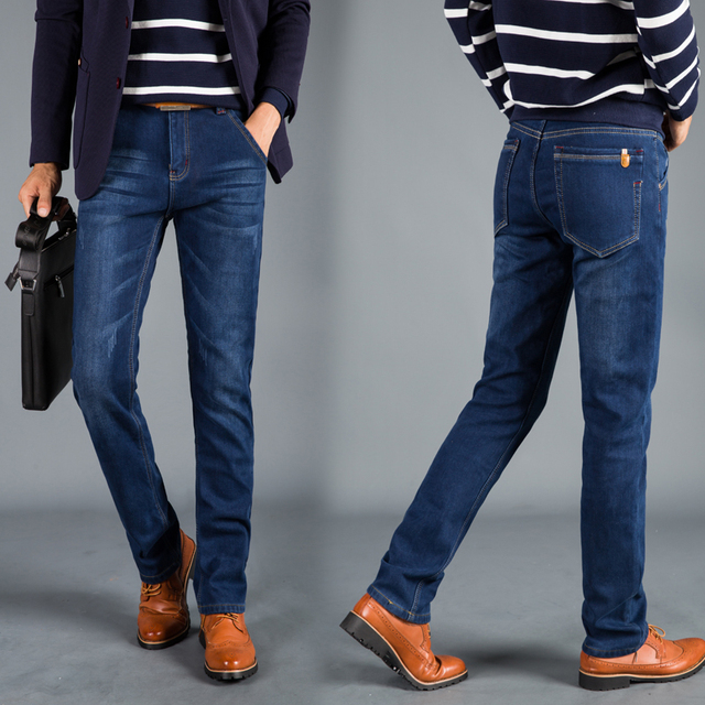 New Winter Insulated Denim Jeans 4