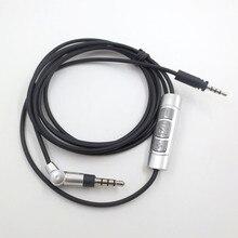 كابل صوتي لسماعات Sennheiser الزخم على الأذن 1.0 2.0 سماعات بلوتوث الحبل سماعات سلك موصل استبدال الملحقات