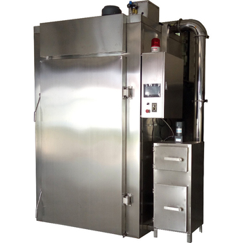 Stainless steel smoke oven automatic high temperature fast baking Smoked tofu smoke machine 1