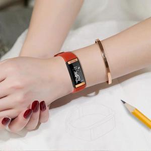 Image 5 - E78 สมาร์ทสร้อยข้อมือผู้หญิงลิปสติกสไตล์ IP68 กันน้ำ Sleep Tracker สุขภาพสายรัดข้อมือความดันโลหิตสมาร์ทนาฬิกาฟิตเนส