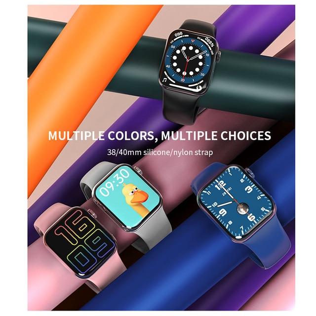 Wearpai HW12 Smart Watch 1.57' Bluetooth call Music Player Heart Rate Monitor Smart split screen display Smartwatch PK IWO12 W26 2