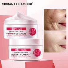Vibrante GLAMOUR colágeno puro cara crema Anti envejecimiento arrugas elevación reafirmante Anti acné blanquear hidratante nutrir las mujeres 1 Uds