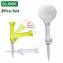 2 шт/компл вращающийся тренировочный мяч тройник для гольфа