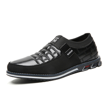 Men Shoes Wedding-Dress Oxfords Slip On Business Formal Big-Size Casual Fashion New 38-48