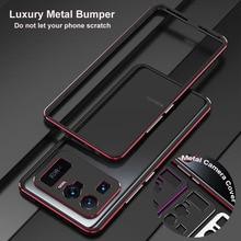 Funda protectora de aluminio Original para Xiaomi Mi 11 Ultra, carcasa de Metal para cámara
