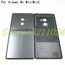 Original New For Xiaomi Mi MiX & Mi Mix 2 Mix2 Ceramic Battery Cover Back Door Housing Case Middle Chassis Replacement Parts