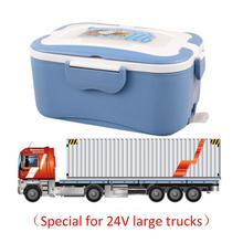 Car Food-Warmer Lunch-Box Car-Heating Electric Portable for Driver 12/24v Plug-In Insulation
