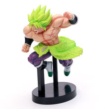 Anime model dłoni dragon ball QLZ 2019 wersja teatralna super Broly figurka PVC w pudełku(China)