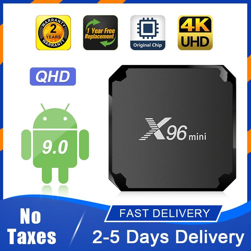 X96 MINI TV Box Android 9 0 S905W QHD Smart TV Box 1 8G 2 16G 2 4G WiFi Super Fast No App Included X96mini Android TV Box