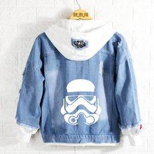 Новинка весны Звездные войны Толстовка джинсы аниме пальто для мужчин и женщин модная куртка