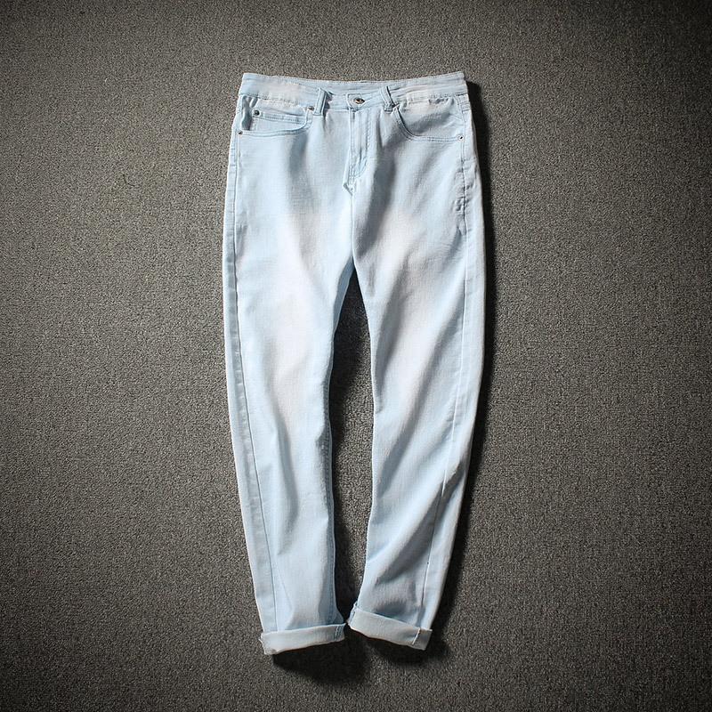 JD Supply Of Goods Skinny Pants MEN'S Jeans Bleach Slim Fit Pencil Pants MEN'S Trousers Trousers Fashion