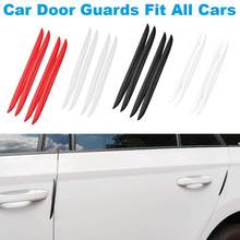 4 pièces voiture Anti Collision bande voiture porte pare-chocs bande Protection anti-rayures porte bord garniture garde anti-rayures autocollant