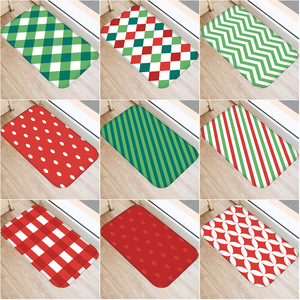 Image 1 - Геометрический узор решетки нескользящий декоративный ковер для спальни кухонный пол для гостиной коврик для ванной нескользящий коврик 40x60 см.
