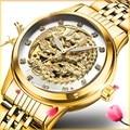 Женские часы TEVISE 9006 Phoenix автоматические часы женские золотые Montre Femme механические наручные часы ремешок для часов инструмент для фиксации П...