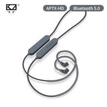 KZ inalambrico Bluetooth Cable 5,0 tecnologia APTX HD modulo de actualizacion de alambre con 2PIN para KZ ZS10 Pro/ZST/AS06/AS10