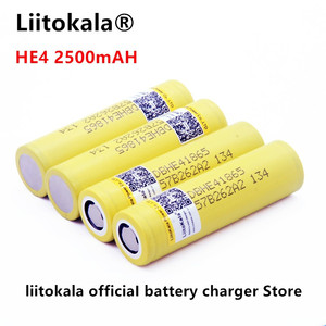 Image 5 - Liitokala for LG HE4 18650 rechargeable Li ion battery is 3.6 V 2500 MAH battery can maintain, Max 20a, 35A and cigarette unload