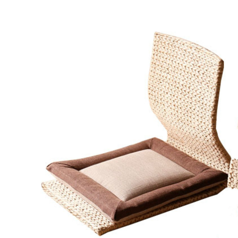 Simple Straw Tatami Bay Window Chair Balcony Floor Legless Chair Living Room And Room Chair Lazy Chair