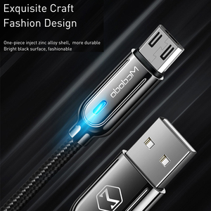 Image 5 - 10Pcs/lot Mcdodo Micro USB Cable 3A Fast Charging Auto Disconnec For Samsung S7 Xiaomi Redmi Tablet Android Phone Charger Cord