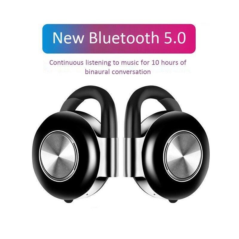 Беспроводные наушники Air V5, TWS стереонаушники Bluetooth 5,0 с шумоподавлением, Bluetooth-гарнитура с микрофоном