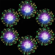 Wire-Light Firework Twinkle-String Patio Christmas Outdoor Garden Fairy Copper Total-1200led