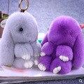 Südkorea Entzückende Kaninchen Hase Puppe Plüsch Spielzeug Handy Ornamente Bugs Bunny Kaninchen Schule Tasche Anhänger-in Schlüsseletui für Auto aus Kraftfahrzeuge und Motorräder bei