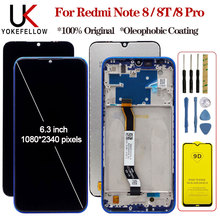 """Display For 6.3"""" Xiaomi Redmi Note 8 8T 8 Pro LCD Display Screen+Touch Digitizer Assembly Display For Redmi Note 8 8T 8 Pro LCD"""