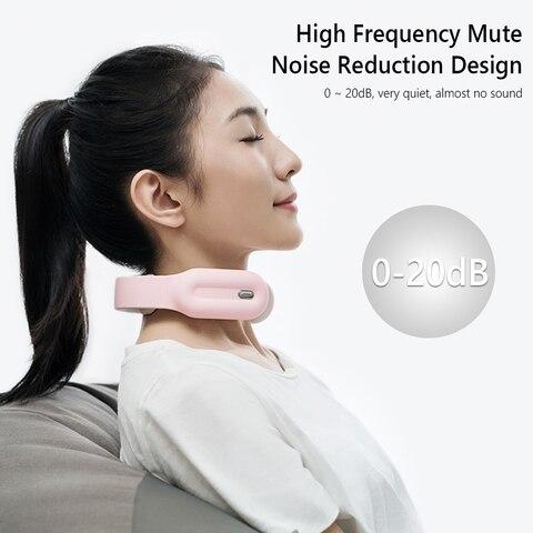 remote inteligente eletrica volta pescoco ombro massageador alivio da dor terapia cervical portatil ombro coluna