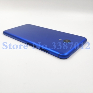 Image 4 - Original Metal 5.7 inches For Meizu M6s S6 Mblu Meilan S6 Back Housing Battery Cover Case Rear Door+Camera Lens