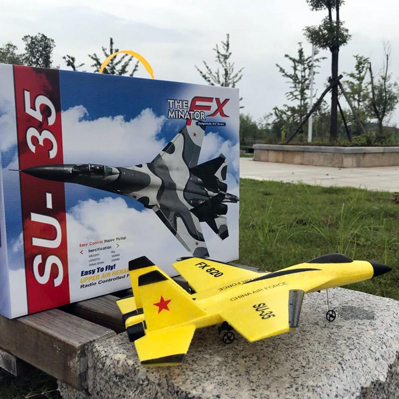 SU35 RC planeur Drone main lancer aile fixe 2.4G électrique jouets de plein air télécommande mousse avion modèle cadeaux jouets pour enfants 1