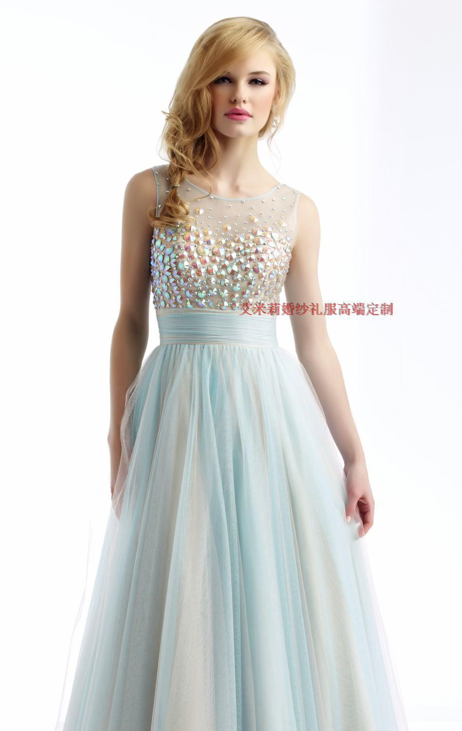 2016 Free Shipping Vestidos De 15 Anos Quinceanera Dresses Prom Gowns A-line Hot Cheap Crystal Quinceanera Gowns V-back