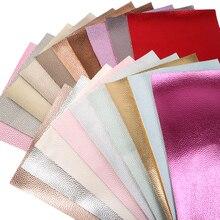 Давид аксессуары 20x34 см личи Синтетическая кожа Винил Искусственная ткань для самостоятельного пошива одежды HairBow сумки, 1Yc7275
