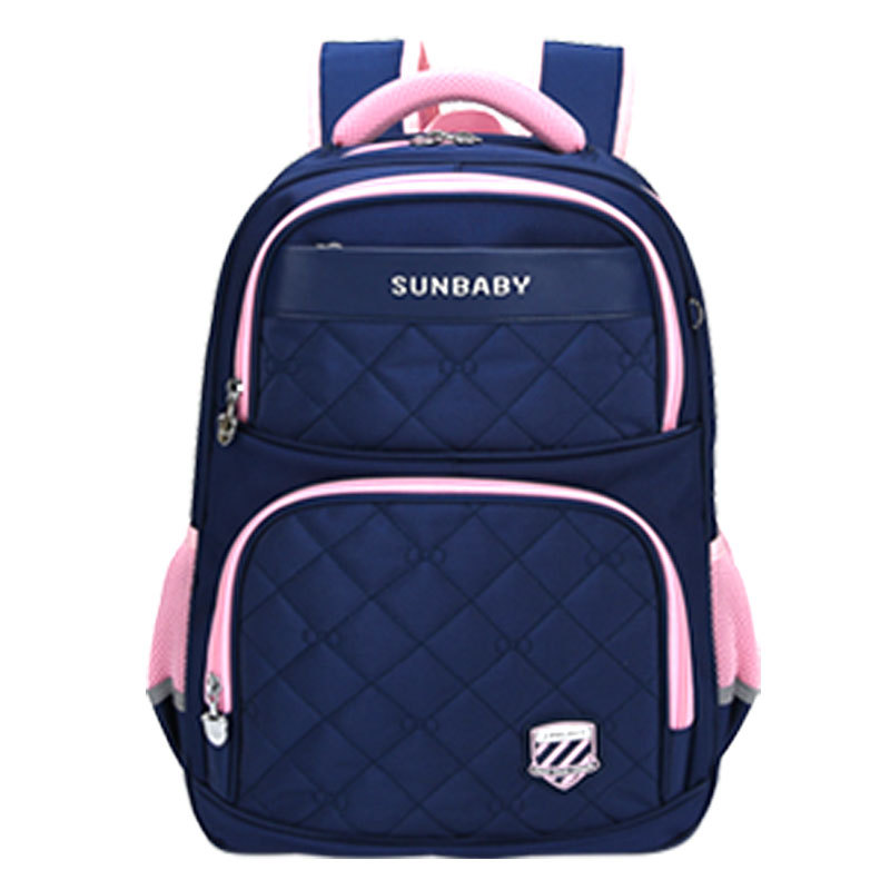 CHILDREN'S School Bags New Style Cartoon Primary School Bag Manufacturers Direct Selling Printed Words And Logo Spine-Burden Rel
