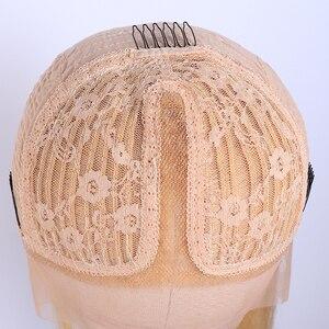 Image 5 - Бразильские Прямые 613 кружевные передние парики 150% Плотность 13x1 дюйм прямые медовые светлые кружевные передние человеческие волосы парики для женщин Jarin
