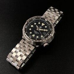 1975 Eerste Blik Tonijn Dive Horloge Super Lichtgevende Automatische Horloge Man Mechanische Horloge NH35 300M Diver Horloges Saffier Kristal