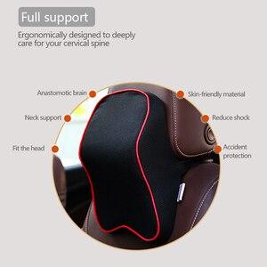Image 4 - Almohada Universal para el cuello del reposacabezas del coche, cojín para descanso del cuello, Protector para la cabeza, almohadas de soporte, accesorios para el descanso de la cabeza