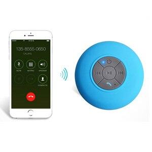 Image 5 - Bluetooth Lautsprecher Tragbare Mini Wireless Wasserdicht Dusche Lautsprecher für Telefon MP3 Bluetooth Empfänger Hand Frei Auto Lautsprecher