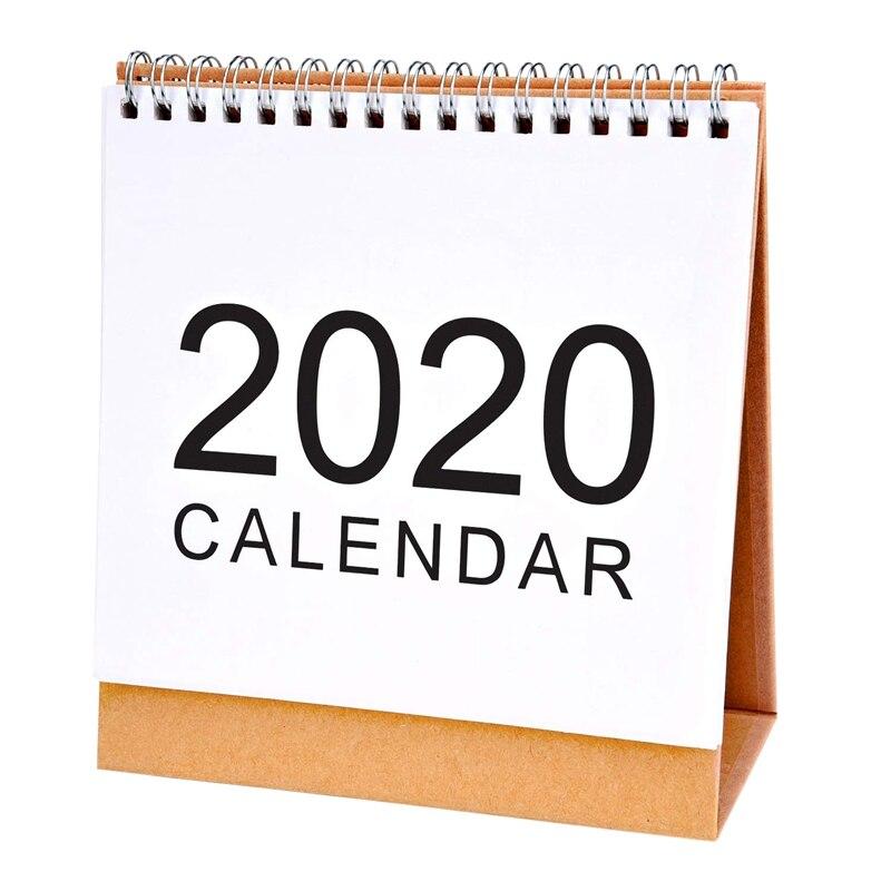 Desktop Wall Calendar Monthly Plan Daily Schedule Planner Kawaii School Supplies