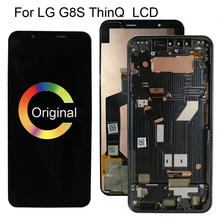 """6.21""""Amoled  For LG G8s ThinQ LCD Touch Screen Digitizer Assembly For LG G8s Display Replacement G8 S LMG810 LM G810 LMG810EAW"""
