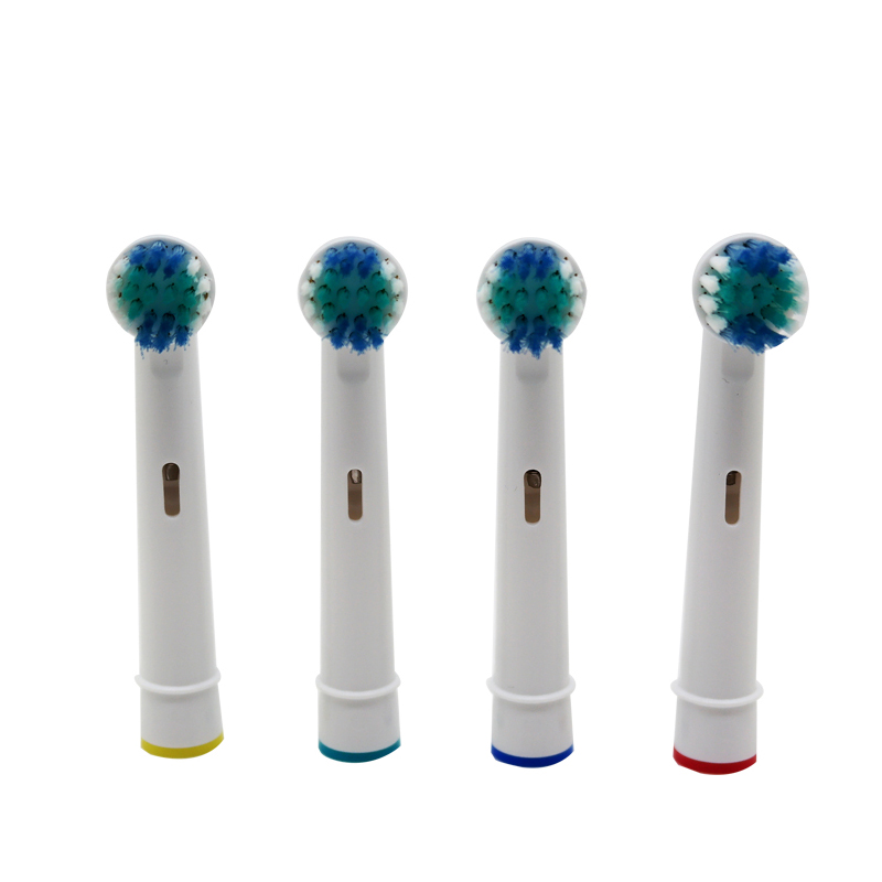 4pcs Replacement Toothbrush Heads for Oral Hygiene B Cross Floss Precision Soft Bristle Duty Free Electric Tooth Brushes Heads image