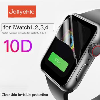 Pokrowiec na zegarek do Apple Watch 6 5 4 3 pokrowiec 42mm 38mm ochraniacz ekranu wyczyść pełny do iWatch 4 seria 6 5 1 2 3 4 40mm 44mm tanie i dobre opinie Geekthink CN (pochodzenie) Ultra-cienki Hydrożel Filmu APB0136