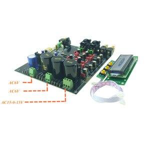 Image 4 - Descodificador ES9038 ES9038PRO DAC tablero ensamblado digital a convertidor de AUDIO analógico opción USB XMOS XU208 o Amanero para AUDIO HIFI