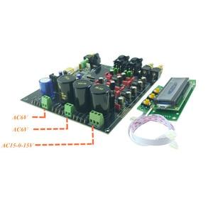 Image 4 - ES9038 ES9038PRO DAC מפענח התאסף לוח דיגיטלי לאנלוגי אודיו ממיר אפשרות USB XMOS XU208 או Amanero עבור HIFI אודיו