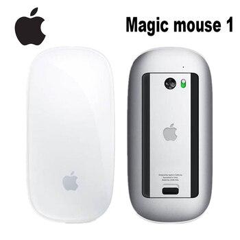 Original Apple Magic Mouse 1 Wireless Bluetooth Mouse for Mac Book Macbook Air Mac Pro Ergonomic Design Smart Multi Touch Mouse 1