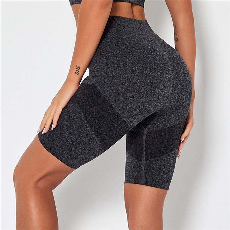 Short Gym Legging Women Seamless Sport Pants  - 1mrk.com