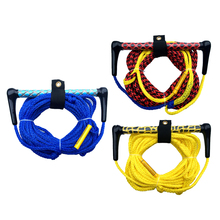 4 Section Floating Deep V Ski Rope Water Skiing Rope Knee Board Wakeboard Surfing Tow Lone With Handle