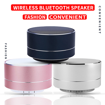 Mini Fashion Convenient Bluetooth Portable Speaker Wireless Speaker For Mobile Phone Computer Speakers Subwoofer image
