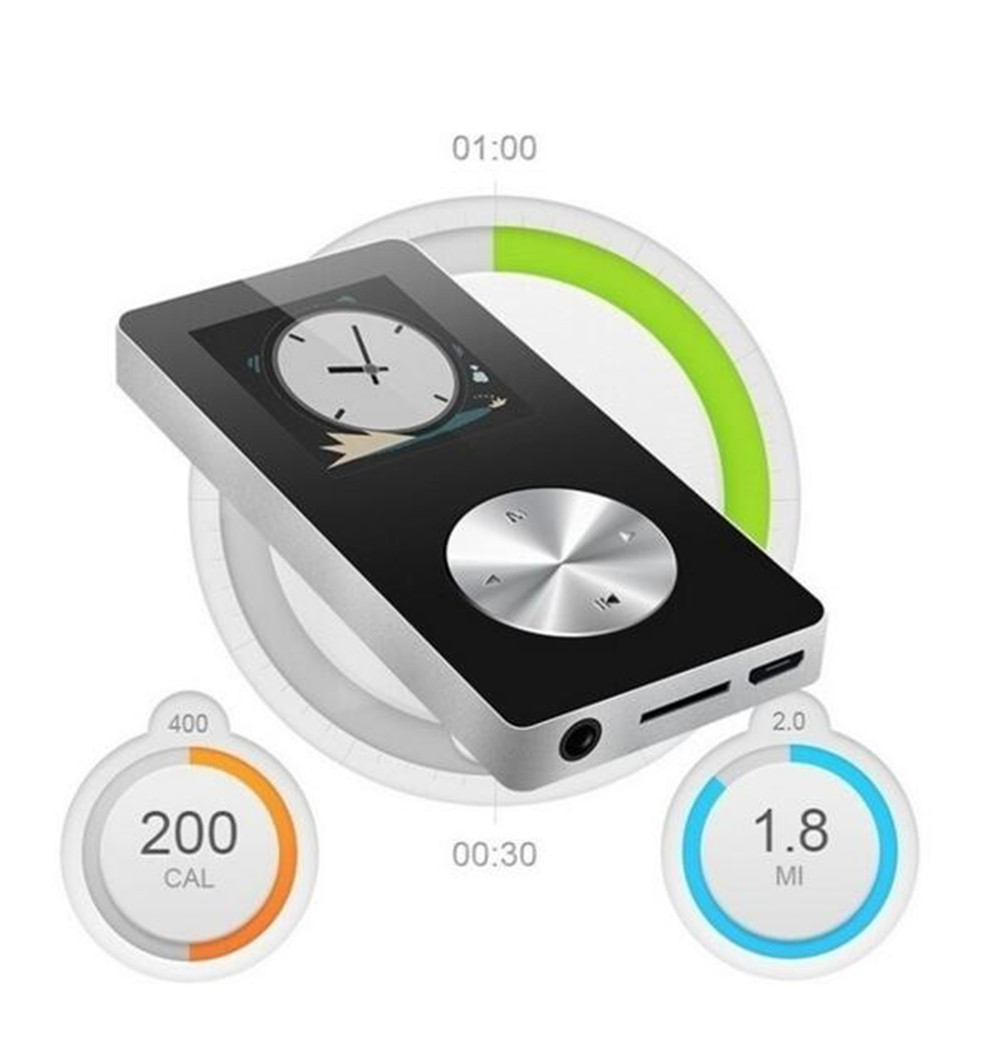 Mp3 Player Bluetooth Lossless Recorder Mp3 Module Pen FM Radio Video Movie Music Player